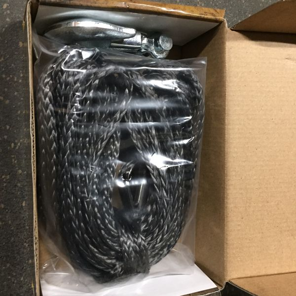 Winch rope synthetic 3000#