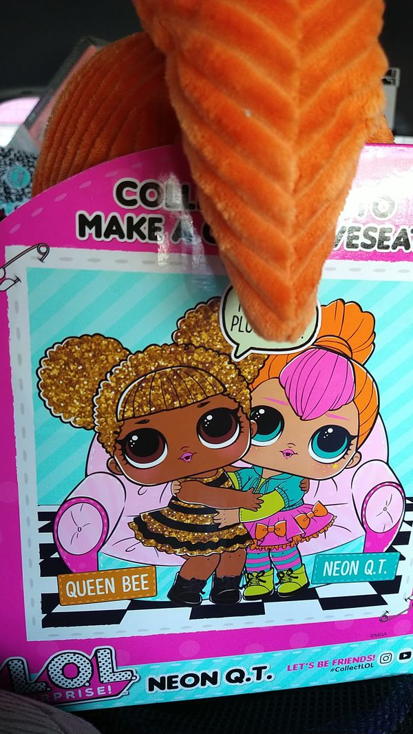 Lol plush dolls