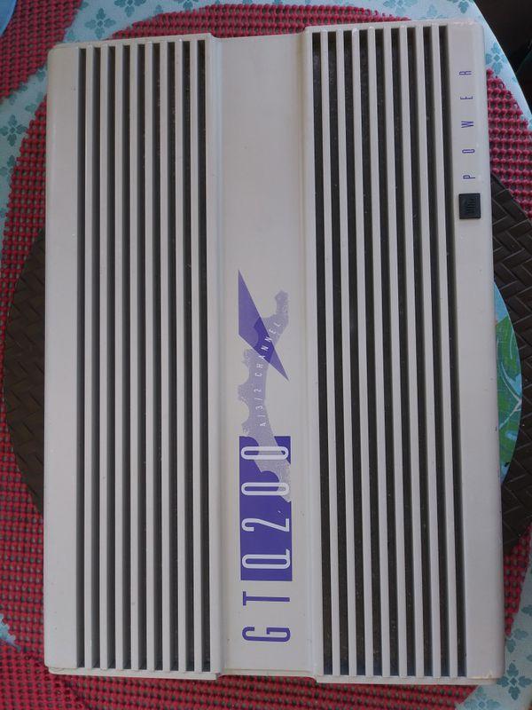 JBL power GT200 ch 4/3/2 600rms
