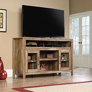 Dakota Pass Entertainment/Fireplace Tv Stand, Craftsman Oak, # 419119 for Sale in Santa Fe Springs, CA