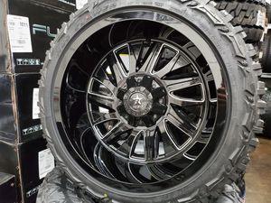 """22"""" x 12"""" Rbp w/ 33x12.50 R22 Tires for Sale in Orange, CA"""