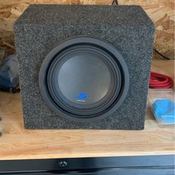 10 Inch Alpine Subwoofer for Sale in Snoqualmie Pass,  WA