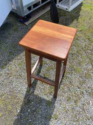 Wooden stool for Sale in Gig Harbor, WA