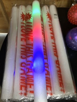 Foam light up sticks $8 a doz for Sale in Bellflower, CA