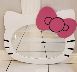 Hello Kitty Large Wall mirror for Sale in Missouri City, TX