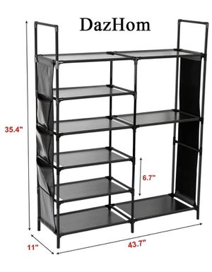 6-TIER SHOE RACK,LARGE STORAGE SPACE for Sale in Denver, CO