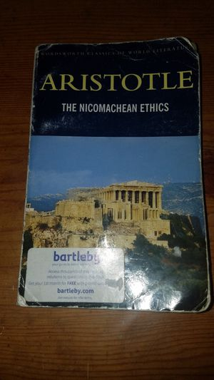 Nicomachean Ethics Aristotle for Sale in Akron, OH