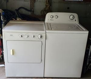 <->NICE<-> 👉Like NEW Amana Workhorse 💦Washer 👉Kenmore Dryer Available for Sale in Portsmouth, VA
