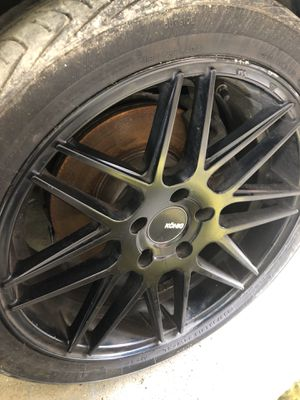 4 Rims with tires fit to bmw 3 2006-2012 for Sale in Chicago, IL
