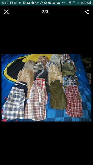 17 pair boys shorts 3 and 4 t for Sale in Gaithersburg, MD