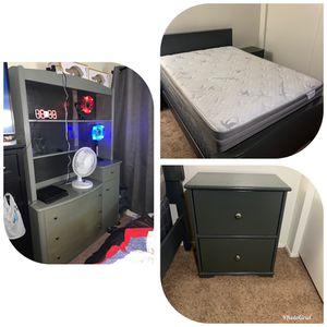 3 Piece Bedroom Set (Full Size) for Sale in Ramona, CA