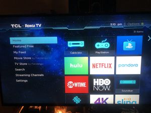 """55"""" TCL Roku TV for Sale in Mesquite, TX"""