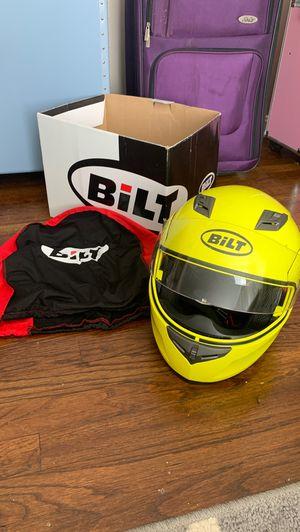 Bilt motorcycle helmet size medium for Sale in Cleveland, OH