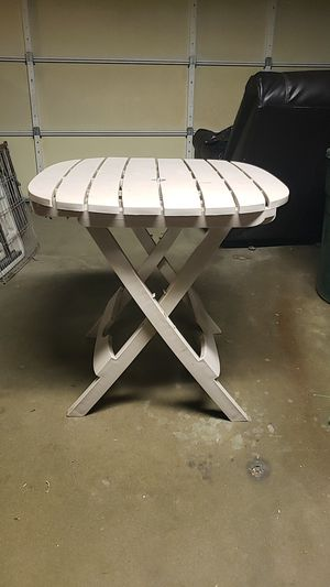Small Folding Patio Table for Sale in Santa Fe Springs, CA