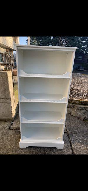 Pottery Barn white bookshelf for Sale in Portland, OR