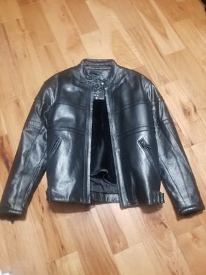 Men's small leather motorcycle jacket for Sale in Cheltenham, PA
