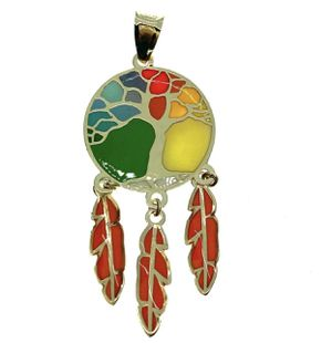 14kt gold tree of life charm pendant for Sale in Los Angeles, CA