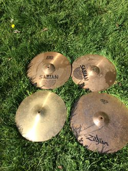 Four Cymbals  for Sale in Seattle, WA