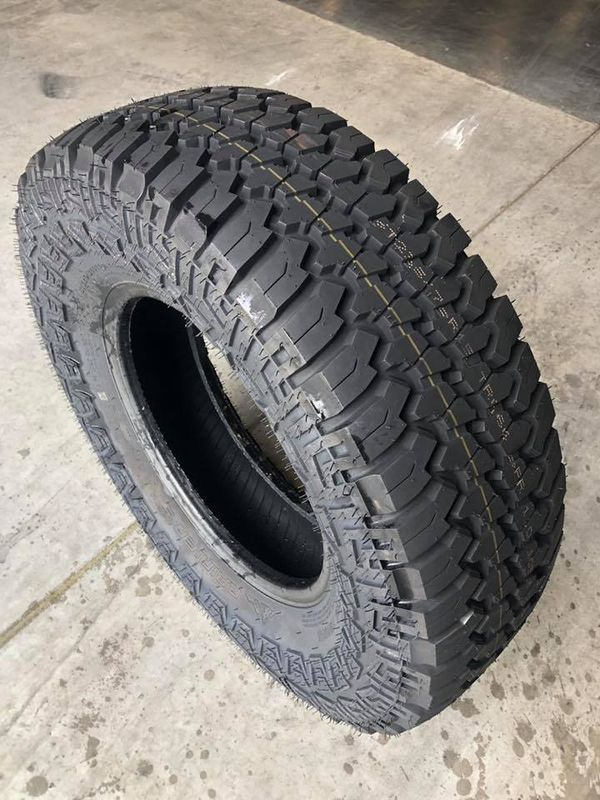 "New Trailer tire - Fits 15"" 5 lug rim and 15"" 6 lug rim - great for off road 235/75/15 - 6 year warranty - we carry all trailer tires -"