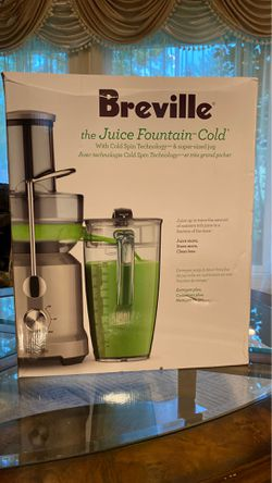 Brand New Breville Juicer Cold Pressed Fountain for Sale in Portland,  OR