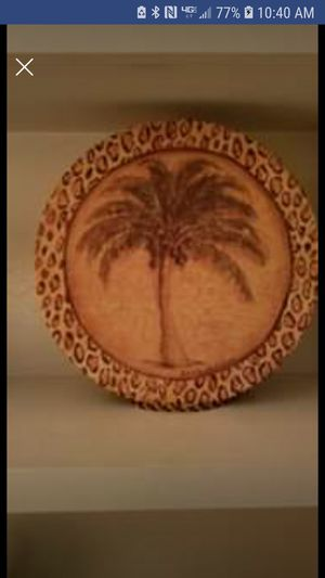 Palm Hat Box (For Decor) for Sale in Jackson, MS