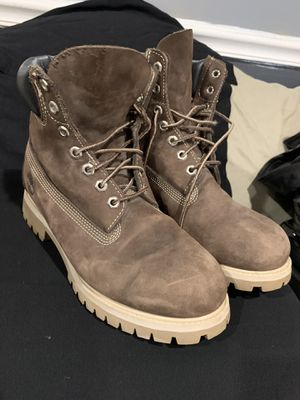 Timberland mens boot size 8.5 M leather suede for Sale in Sterling, VA