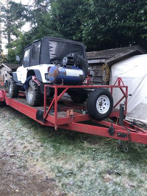 Double car trailer for Sale in Bothell, WA