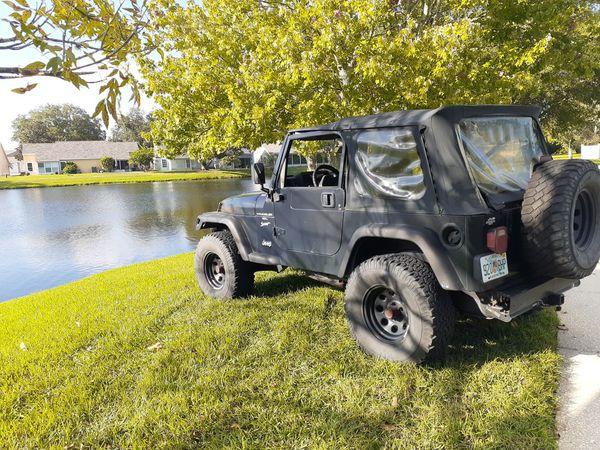 1999 Jeep Wrangler Sport 4x4