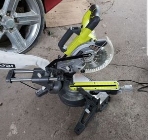 Ryobi sliding miter saw for Sale in Houston, TX