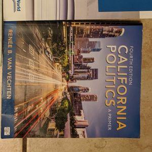 California Politics Fourth Edition for Sale in Santa Ana, CA