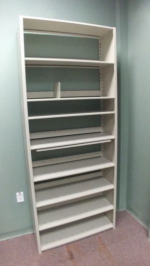 OFFICE/HOME METAL SHELVES for Sale in Houston, TX