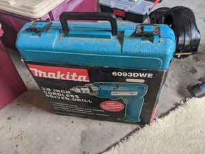 "[BRAND NEW] Makita ⅜"" Cordless 9.6v Power Drill for Sale in San Jose, CA"