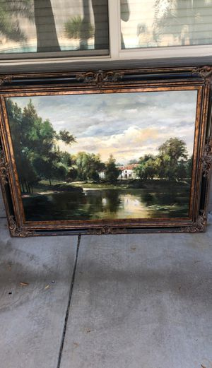 Oil paintings with original certificate of authenticity. for Sale in Phoenix, AZ