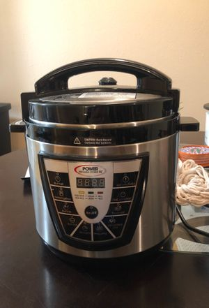 Power Pressure Cooker for Sale in Houston, TX