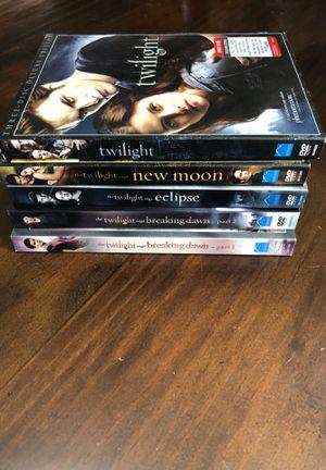 Complete Twilight Series for Sale in Menifee, CA