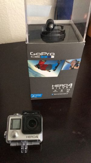 GoPro Hero 4 Silver! for Sale in Sacramento, CA