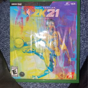 NBA 2k21 Mamba Edition/ Next Generation for Sale in San Bernardino, CA