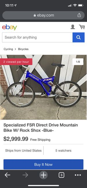 Specialized FSR Mountain Bike for Sale in Owings Mills, MD