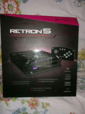 Hyperkin RetroN 5: HD Retro Gaming Console, Black, for Sale in Hannibal, MO