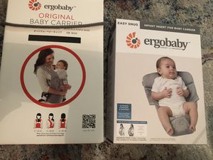 Ergo baby carrier with easy snug seat for Sale in Fremont, CA