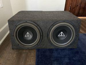 2 12s in a box ADDICTIVE AUDIO for Sale in Lakeland, FL