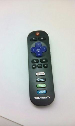TCL ROKU TV Remote For TCL Roku TVs for Sale in San Bernardino, CA