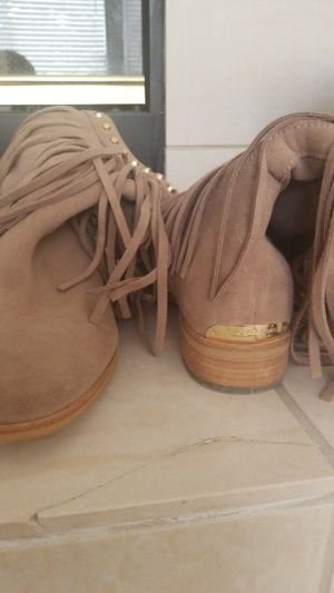 Michael Kors boots with fringe for Sale in Livermore, CA