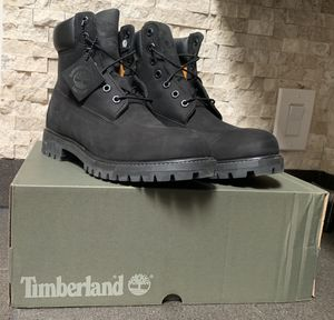 Timberland boots, black, sz 8.5 for Sale in Santa Fe, NM