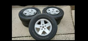 Jeep wheels and tires for Sale in Alexandria, VA