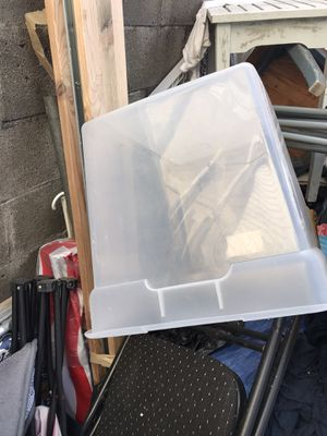 5 storage bins no cover great for storing ebay items for Sale in Philadelphia, PA