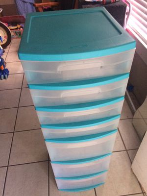 7 drawer plastic organizer for Sale in Fort Worth, TX