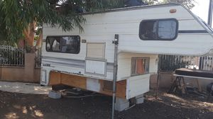 Camper trailer 4 the bed of the truck 4 sale or trade for Sale in Wildomar, CA