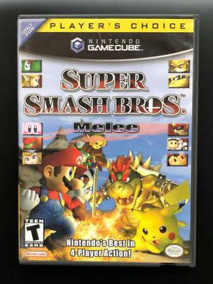 Super Smash Bros Melee (Gamecube not included! Price FIRM ) for Sale in Portland, OR
