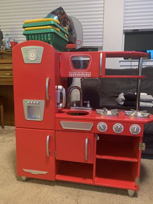Red Toy Kitchen for Sale in Fairfield, CA